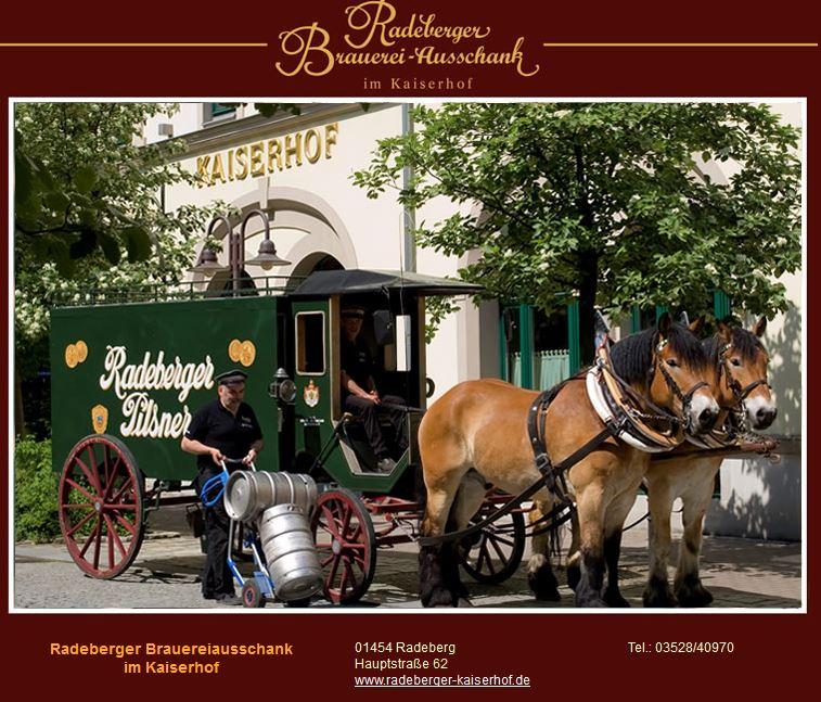 Radeberger Brauereiausschank im Kaiserhof