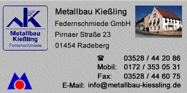 Metallbau Kießling