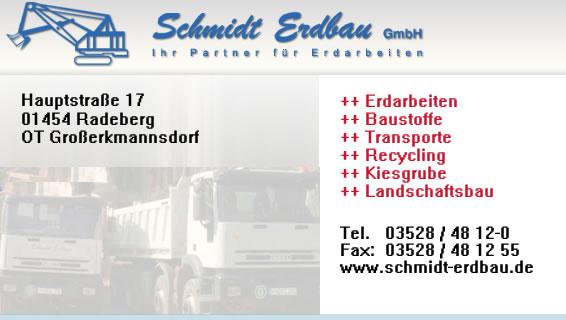 Schmidt Erdbau